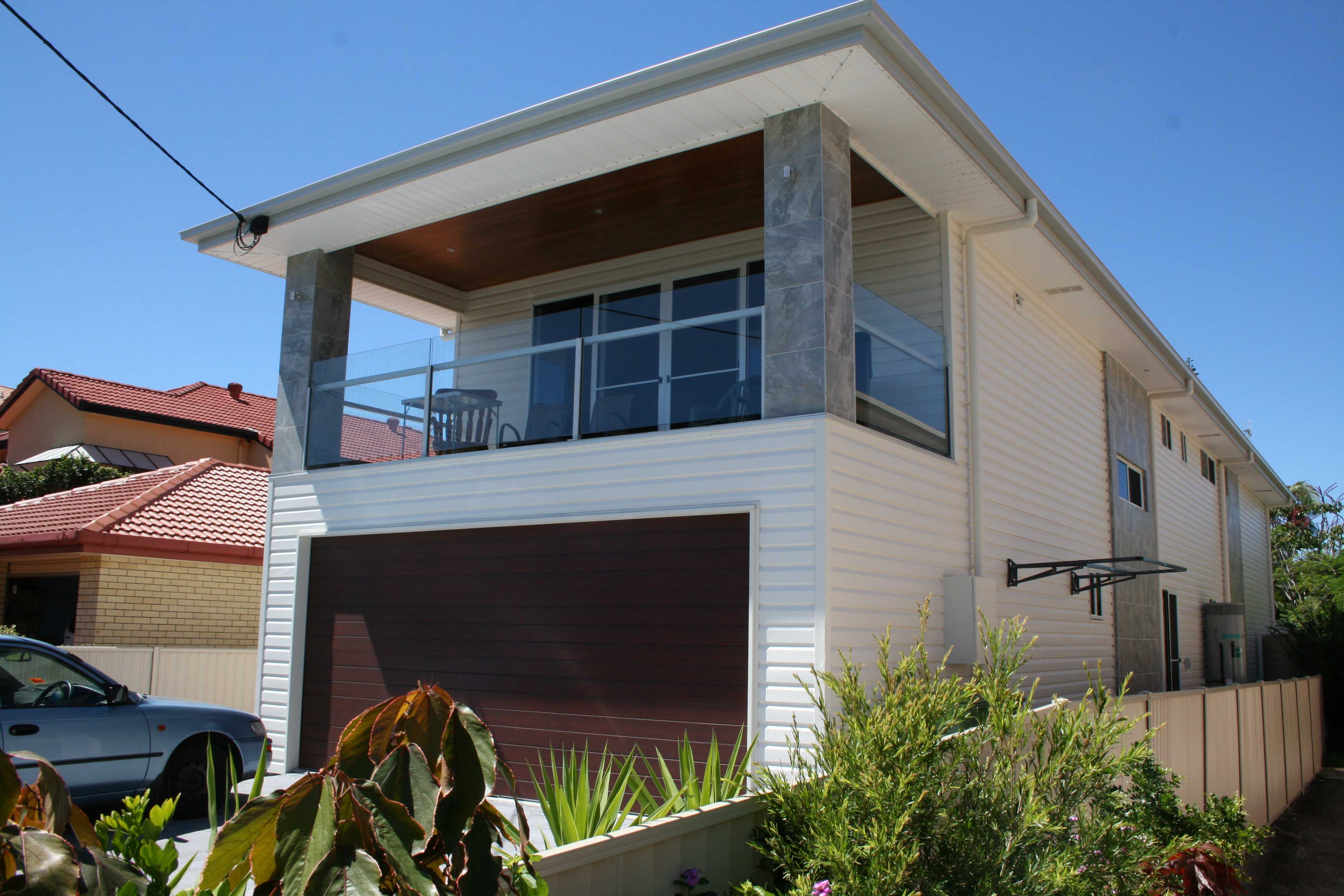 Cladding tweed northern nsw for Modern house cladding