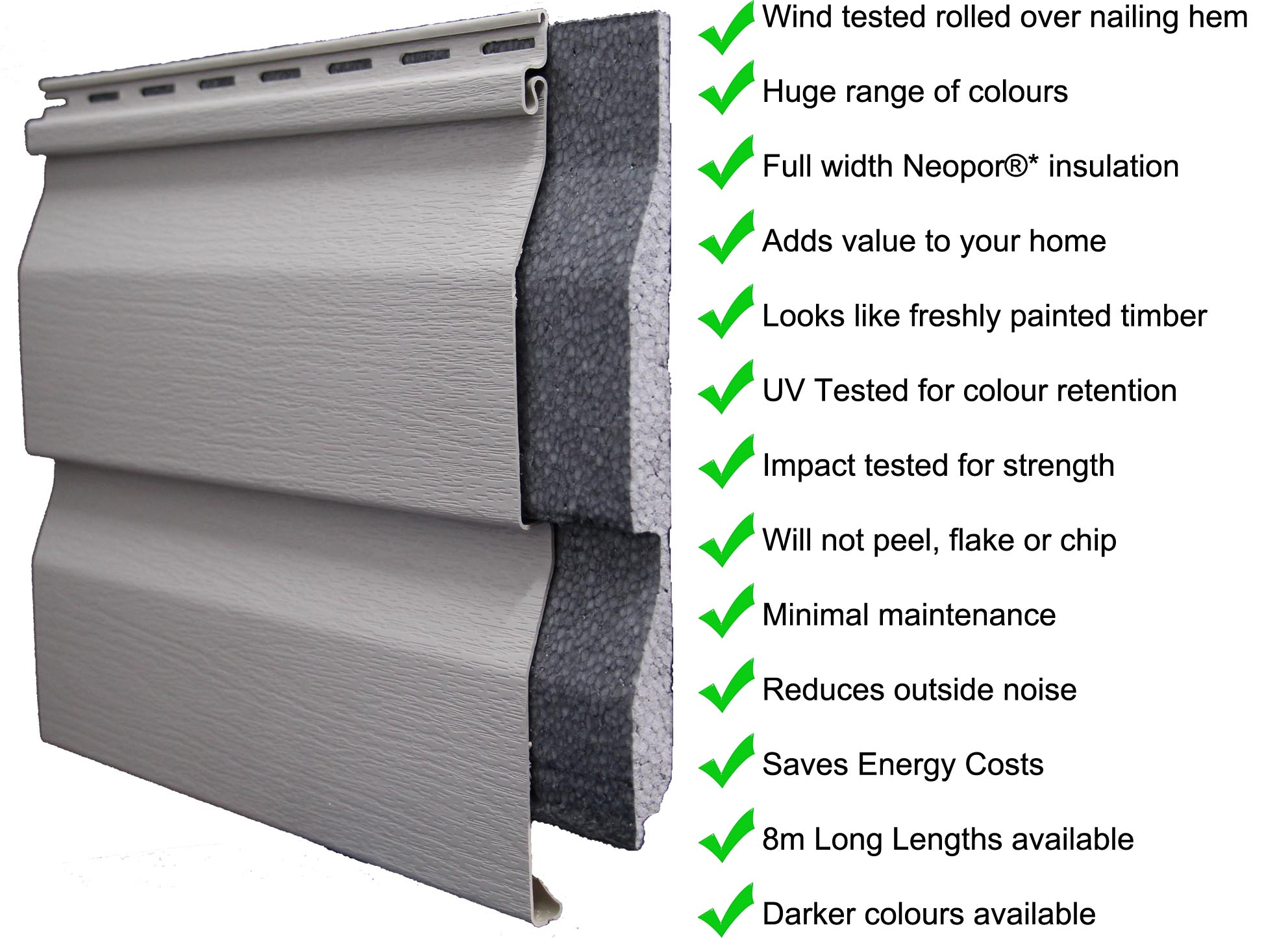 Neoshield 174 Vinyl Cladding
