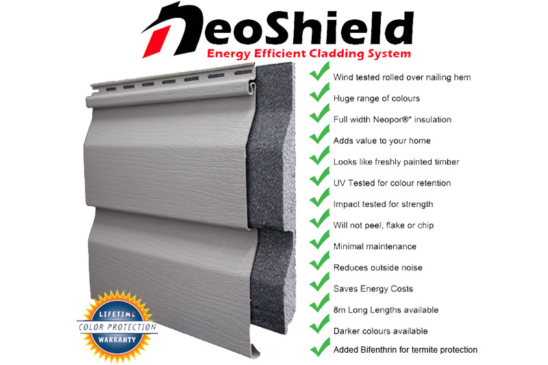 NeoShield Vinyl Cladding